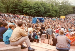 1990 Kelvingrove Bandstand Poll Tax Demonstration