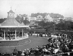 1910 site of Kevingrove Bandstand