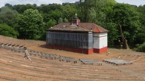Kelvingrove Bandstand condition 2013
