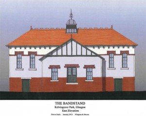 Kelvingrove Bandstand East Elevation